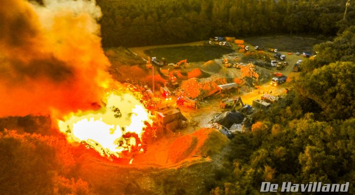 PJ Skips Industrial Fire filmed for the BBC