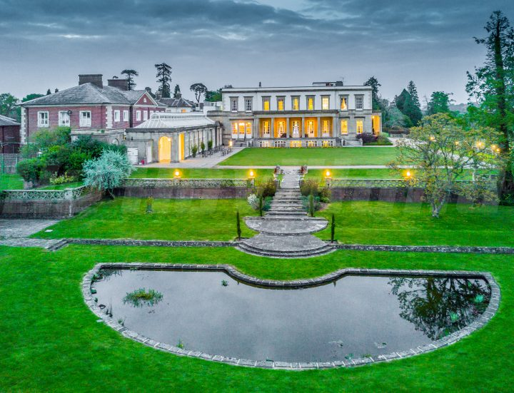 Aerial Photos for Buxted Park Hotel
