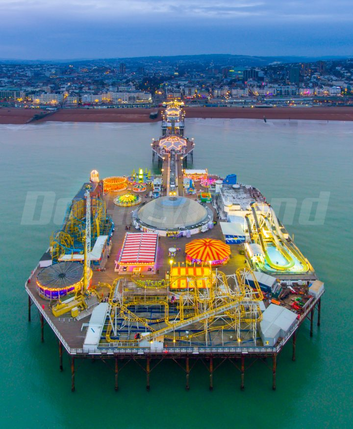 Brighton Pier Photos for What's On magazine