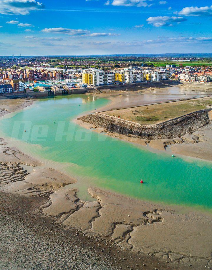 Sovereign Harbour – Aerial Tidal Survey