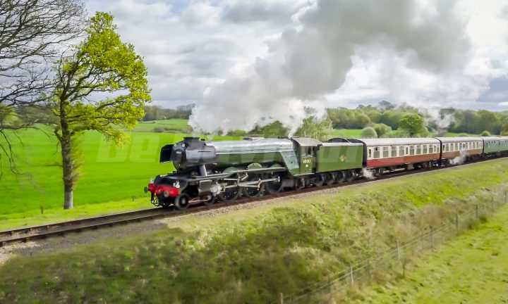 Flying Scotsman on the Bluebell Line 2017